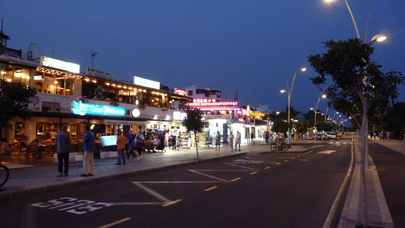 Nočné ulice Puerta