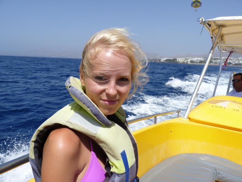 Na člne cestou na padák
