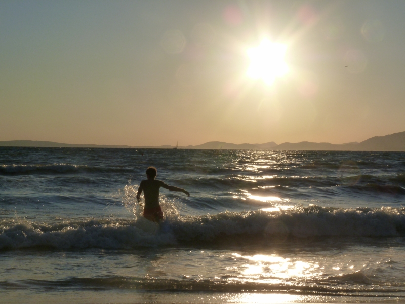 Pláž v El Arenal