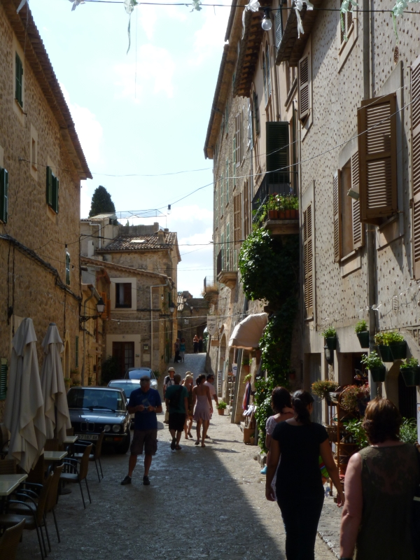 V uliciach Valldemossy