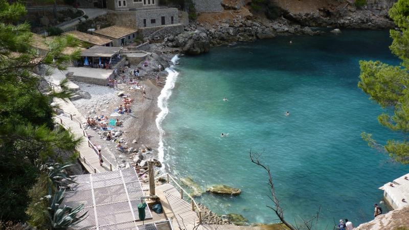 Pláž blízko Sa Calobry