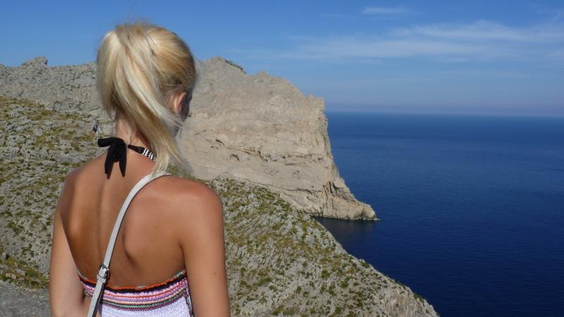 Cesta na Cap de Formentor