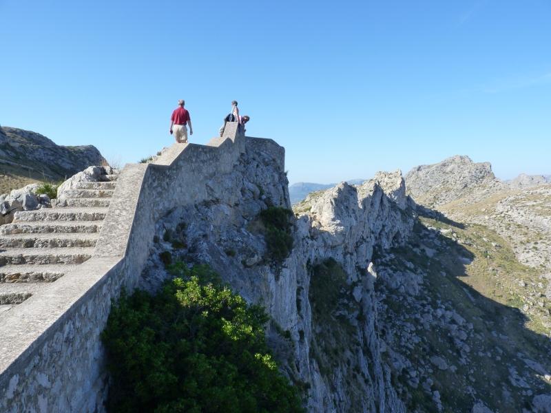 Výhliadka cestou ku Cap de Formentoru