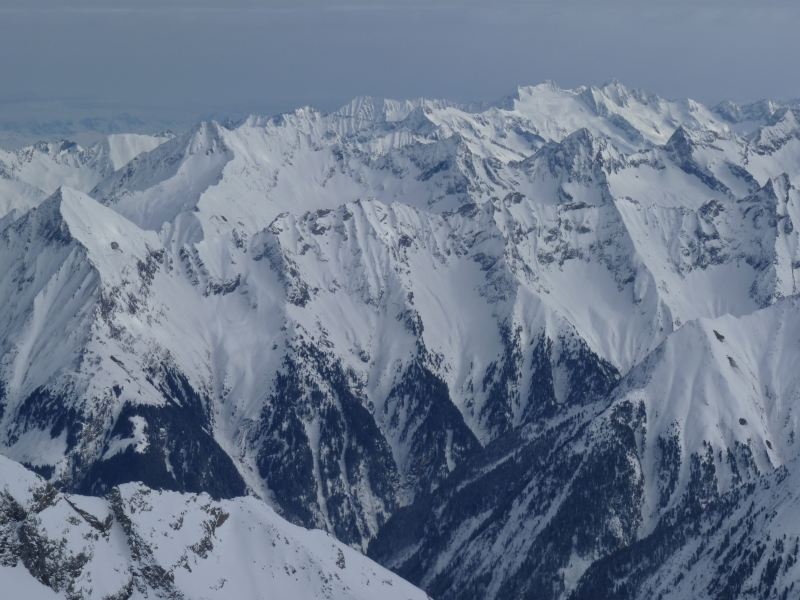 Výhľad na Alpy