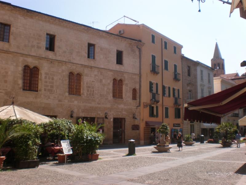 Staré mesto v Alghere