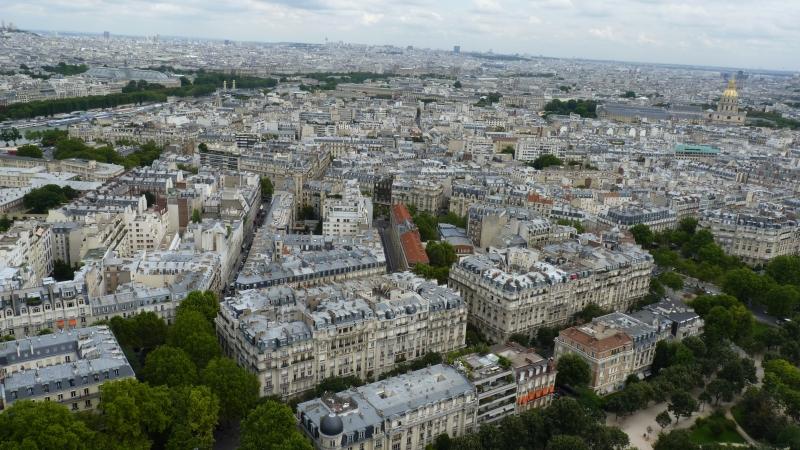 Výhľad z Eiffelovky