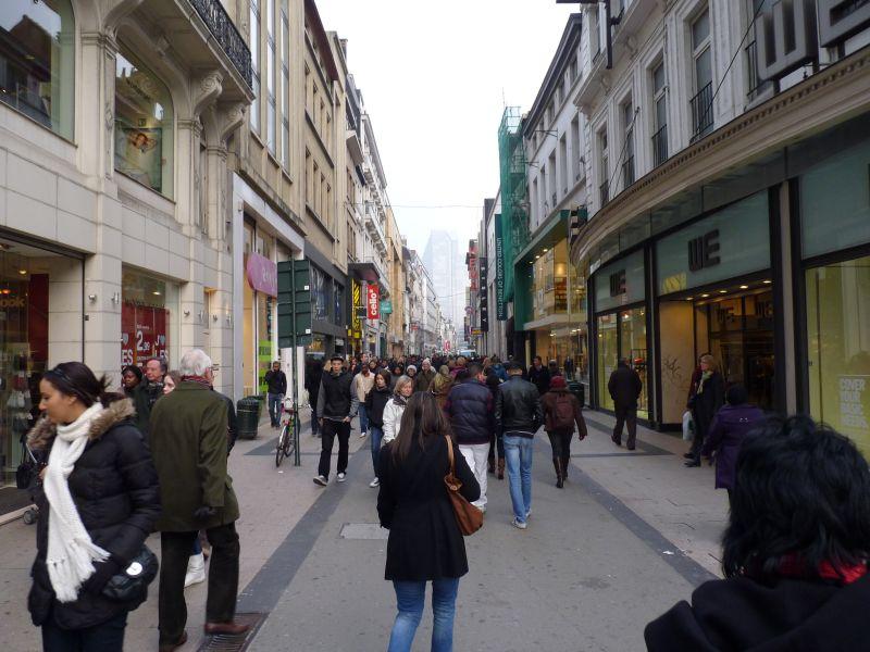 Bruselské ulice
