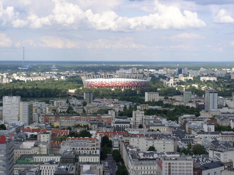 Varšava z výšky