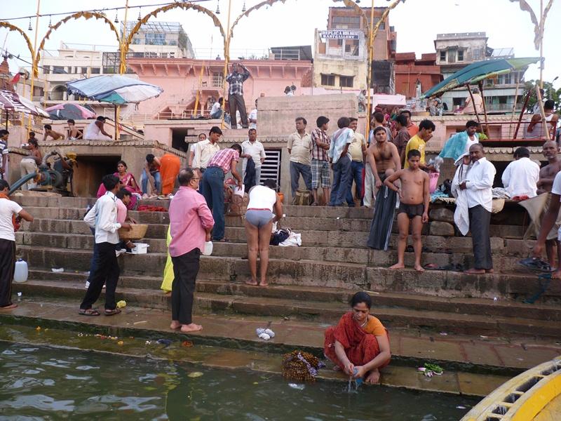 Kúpanie sa v Gange