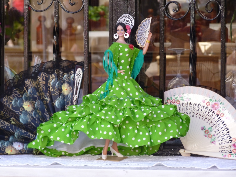 Flamenco tanečnica