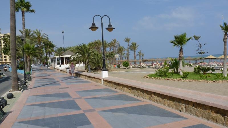 Torremolinos - pláž Carihuela