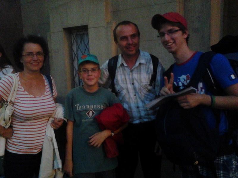Rodina z vlaku do Bukurešti