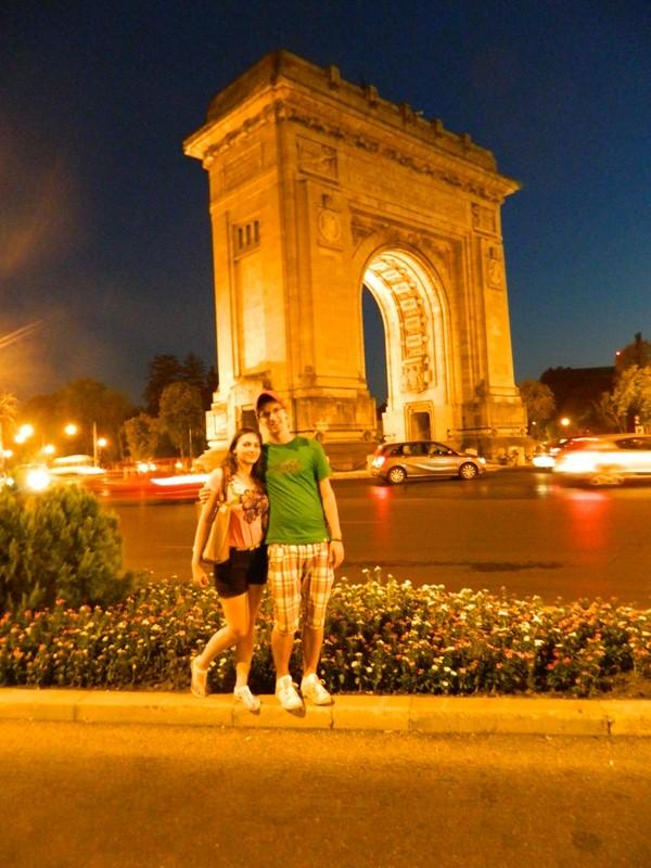Bukurešť - víťazný oblúk
