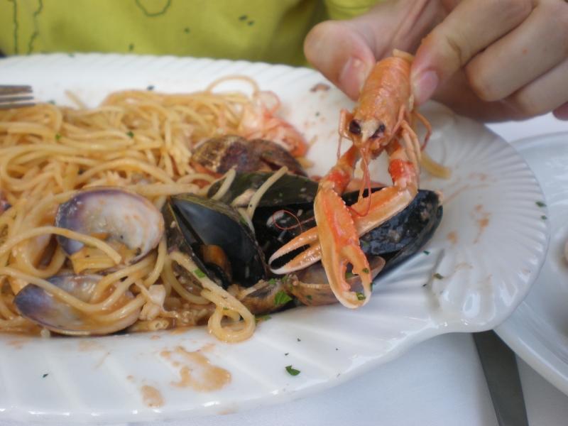 Večera - morské plody