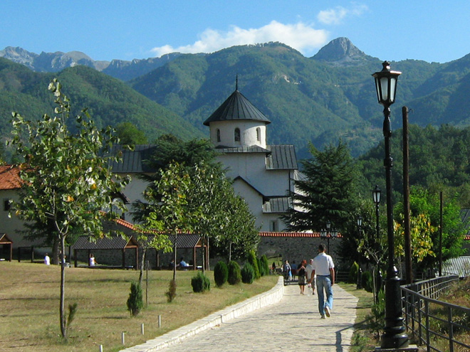 Čierna Hora - kláštor Moraca