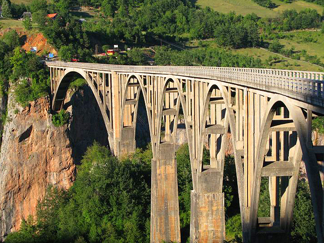 Čierna Hora - Most Durdevica Tara