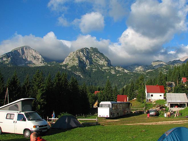 Čierna Hora - Zabljak kemp