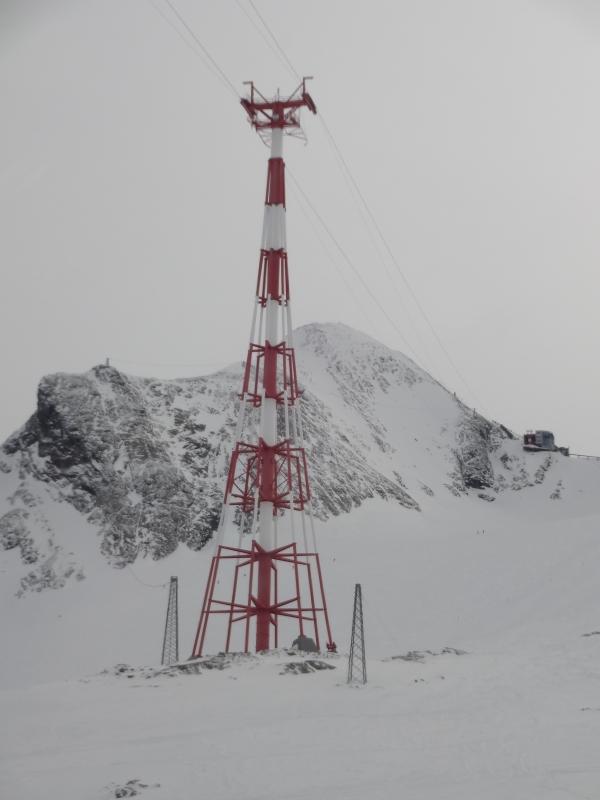 Kitzsteinhorn - stĺp vo výške 113 m