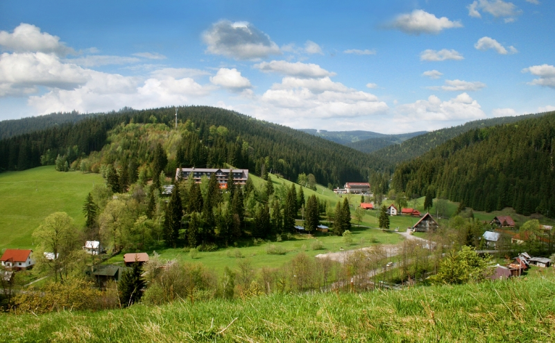 Velké Karlovice Údolie Léskové
