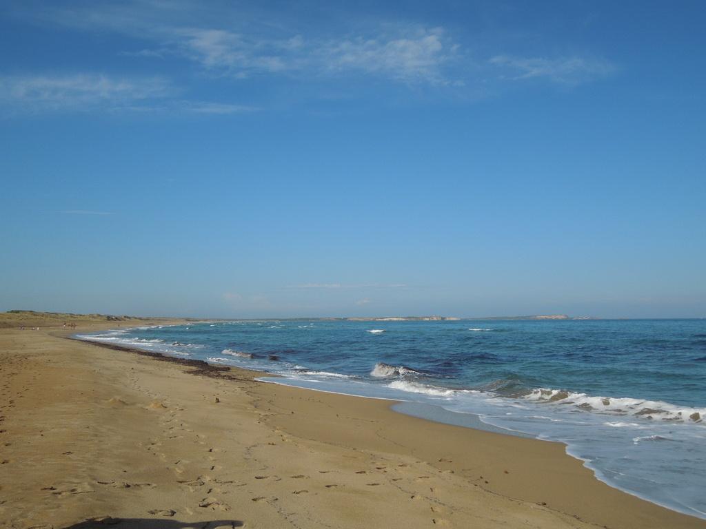 Pláž pri kempe
