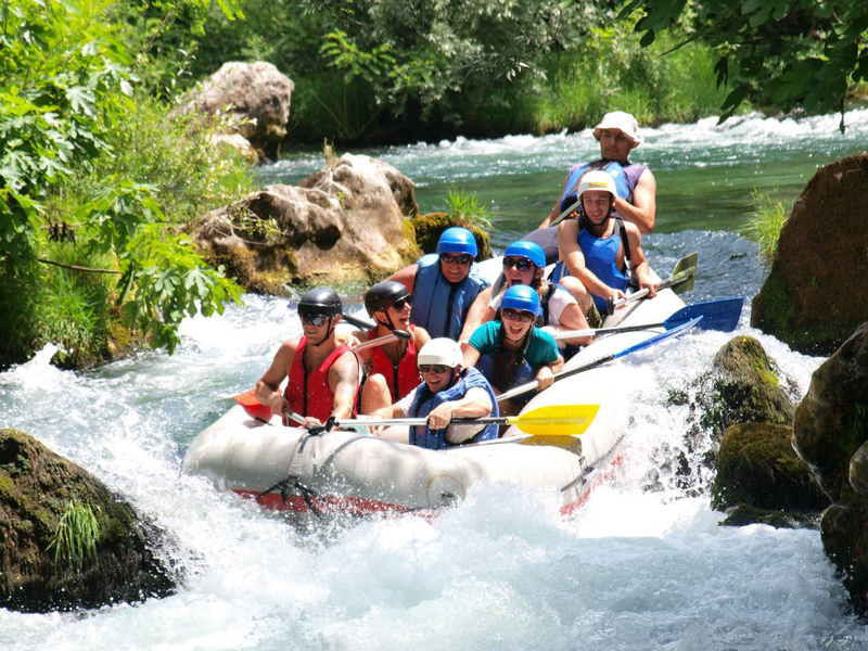 Rafting na rieke Cetina