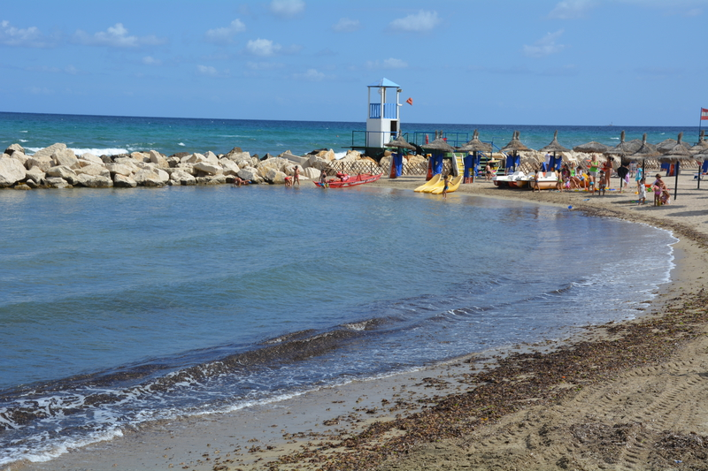 Pláž v Trapani