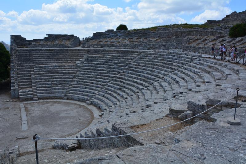 Segesta - divadlo