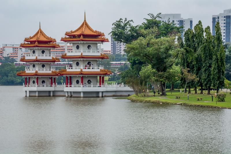 Singapur - čínska záhrada