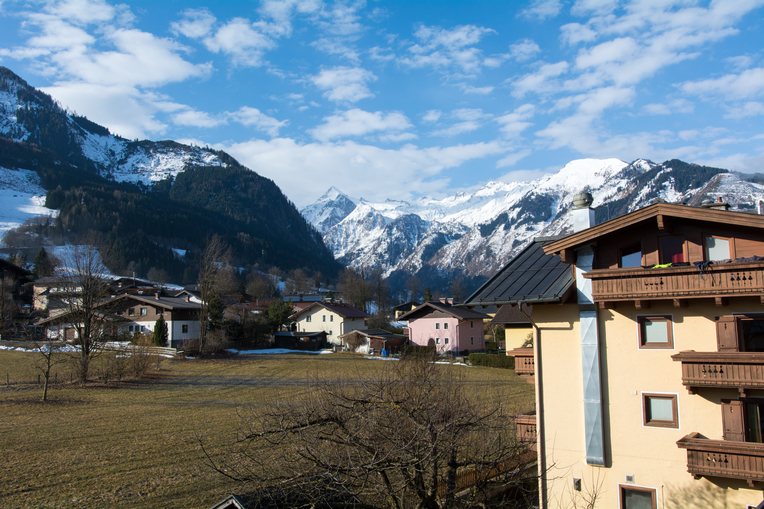 Výhľad na Kitzsteinhorn
