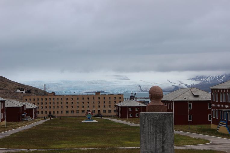 Najsevernejšia busta Lenina