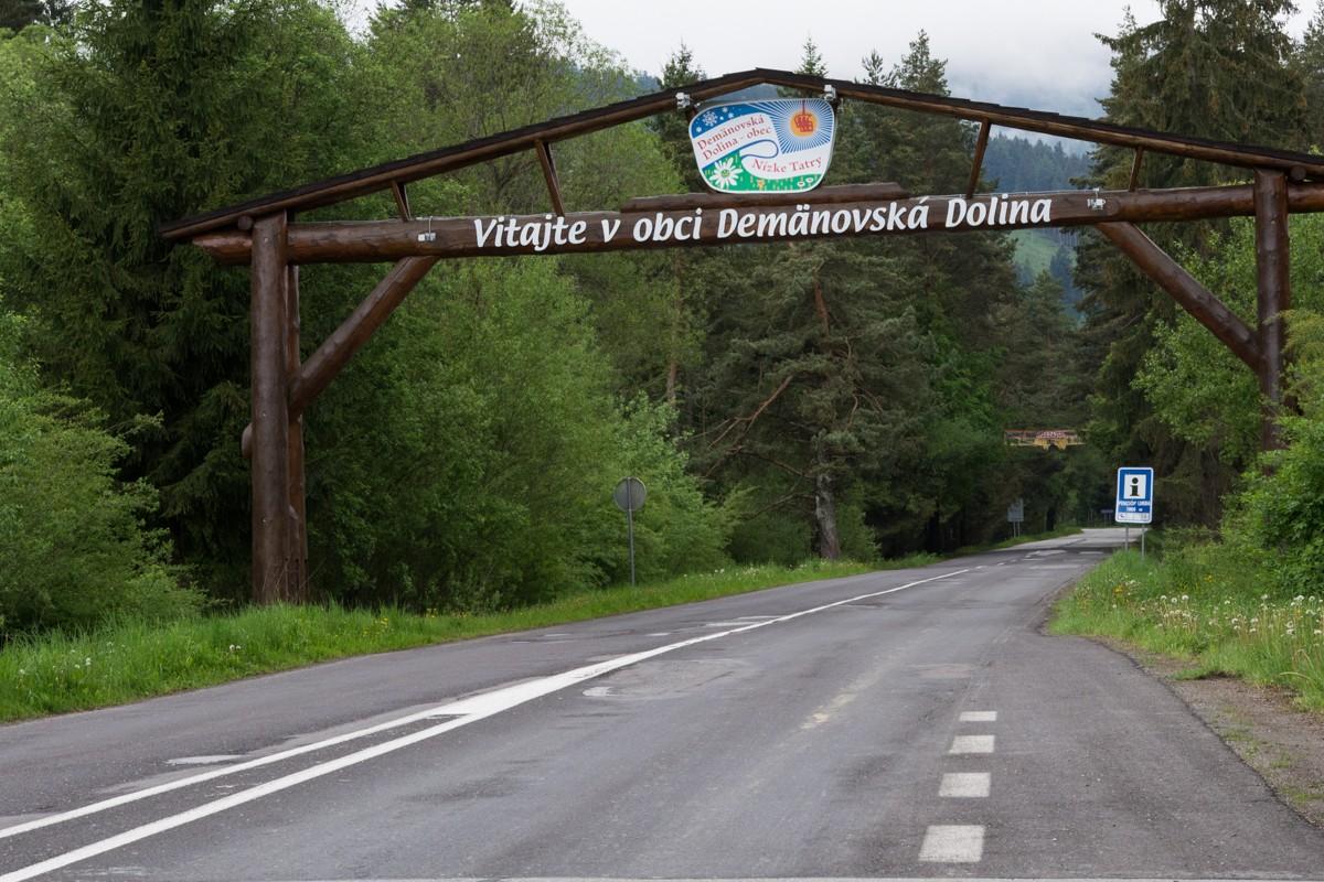 Príchod do Demänovskej doliny
