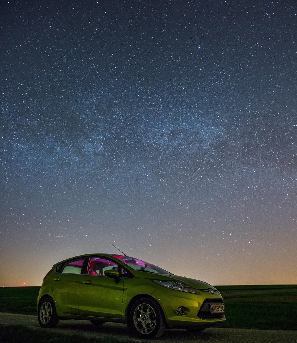 Naša Fiesta pod hviezdami