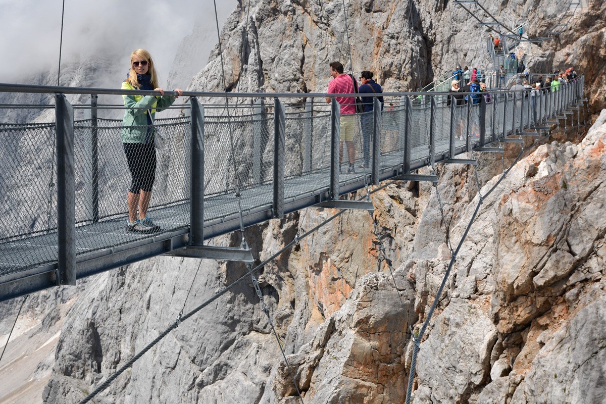 Závesný most Dachstein