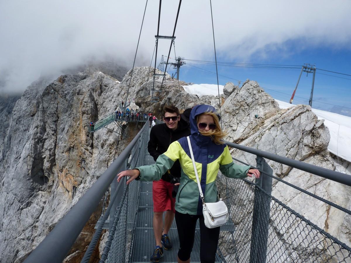 Zima na Dachsteine