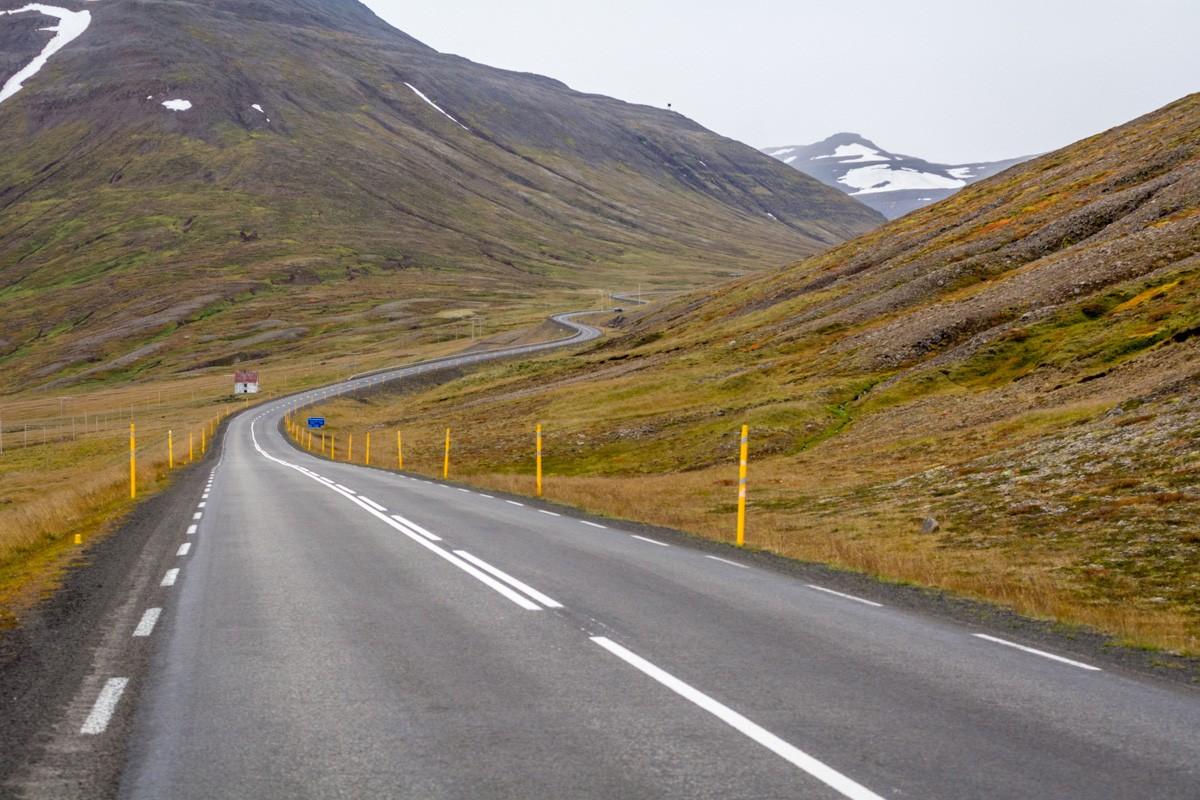 Cesta do Akureyri