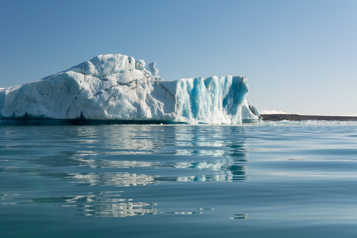 Odlomená kryha ľadovca