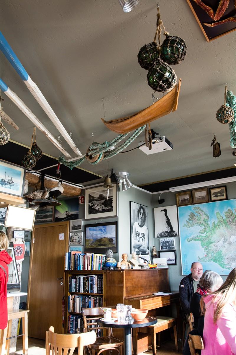 Reštaurácia Bryggjan Grindavík
