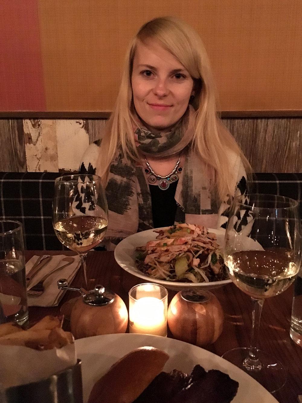 Jedna z NY večerí