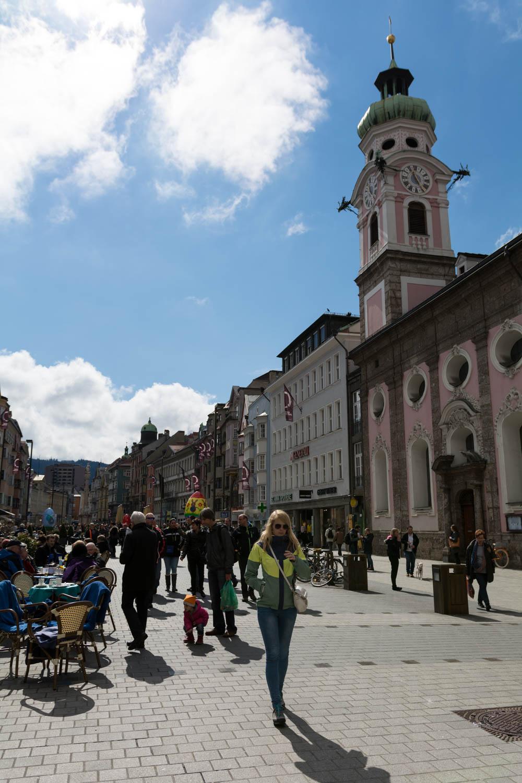Innsbruck centrum