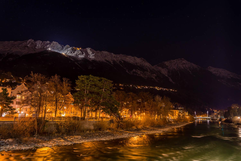 Nočný Innsbruck