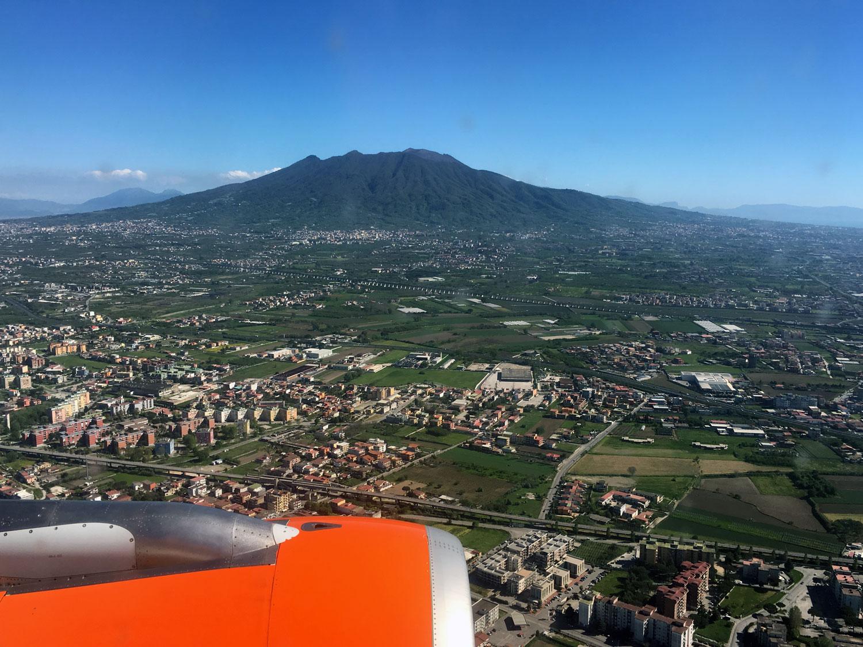 Prílet do Neapolu