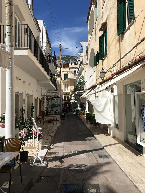 Ulice Capri