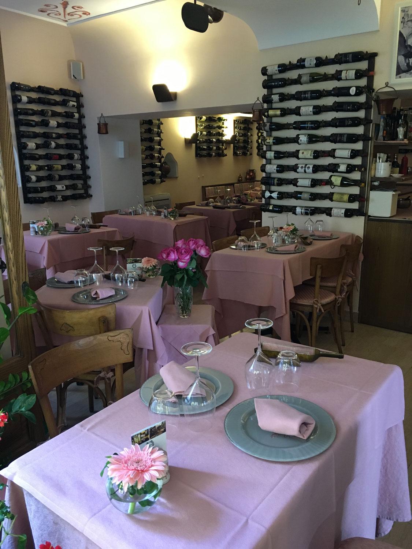 Reštaurácia na Capri