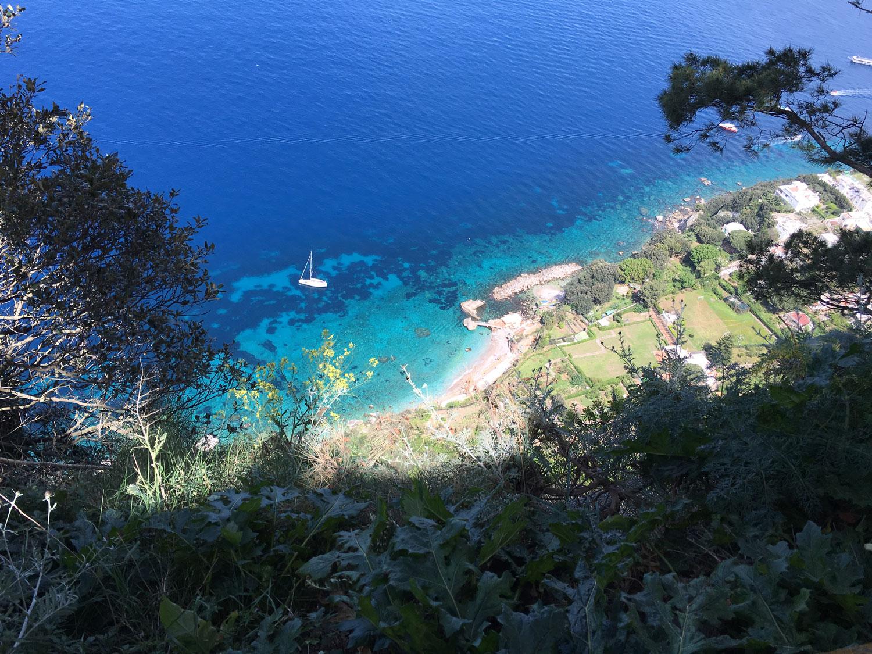 Výhľad z Villa San Michele