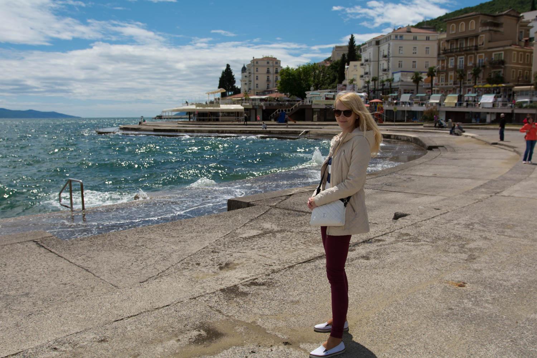 Opatija pláž Slatina