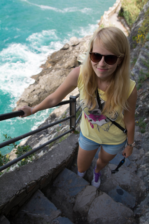 Turistika medzi dedinkami Cinque Terre