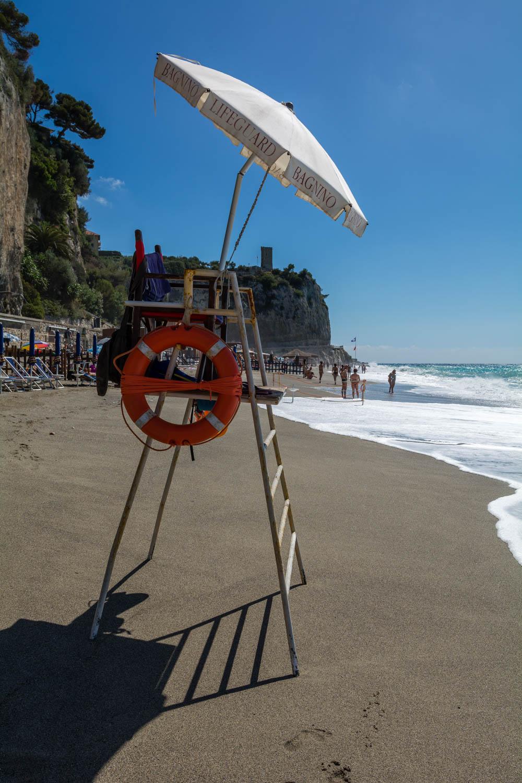 Pláž pri Varigotti