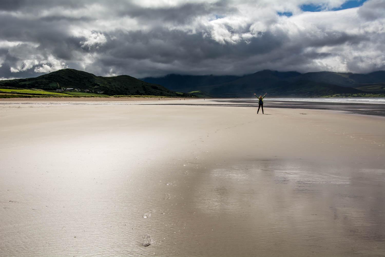 Írska pláž