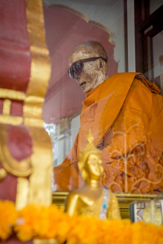 Mumifikovaný mních