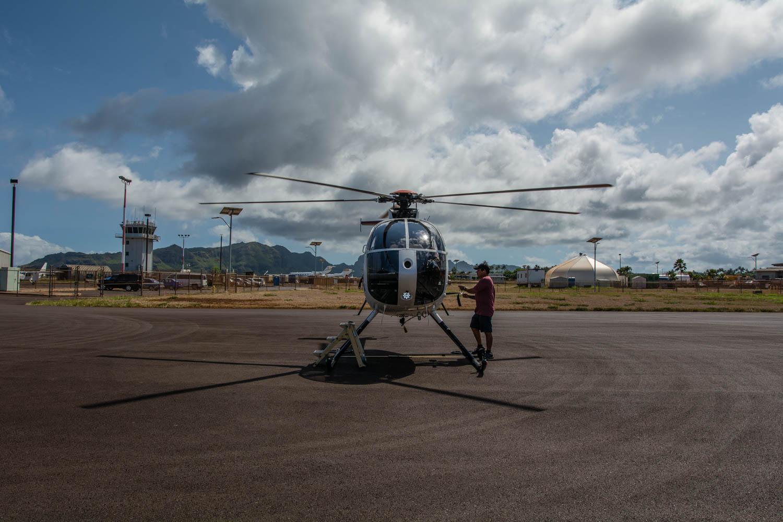 Výlet helikoptérou